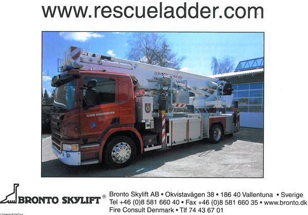 Bronto redningslift til Sorø Brandvæsen